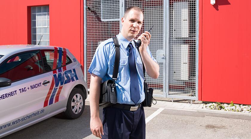 Werkschutzmitarbeiter/in gesucht