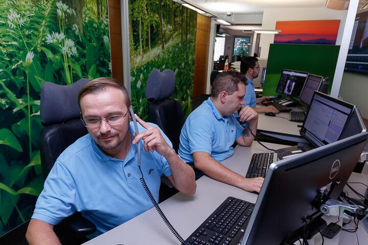 Notruf Service Leitstelle WSH Sicherheit GmbH